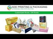 Add Printing and Packaging