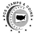 PCS Stamps and Coins