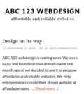 Abc123 Web Design