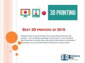 3D Printers Bay